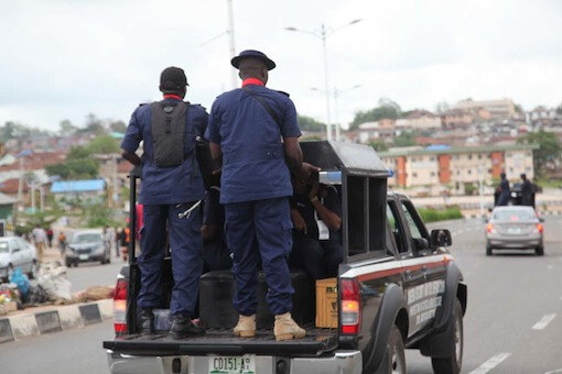Photo of NSCDC officer arrested for allegedly defiling 7-year-old girl in Zamfara
