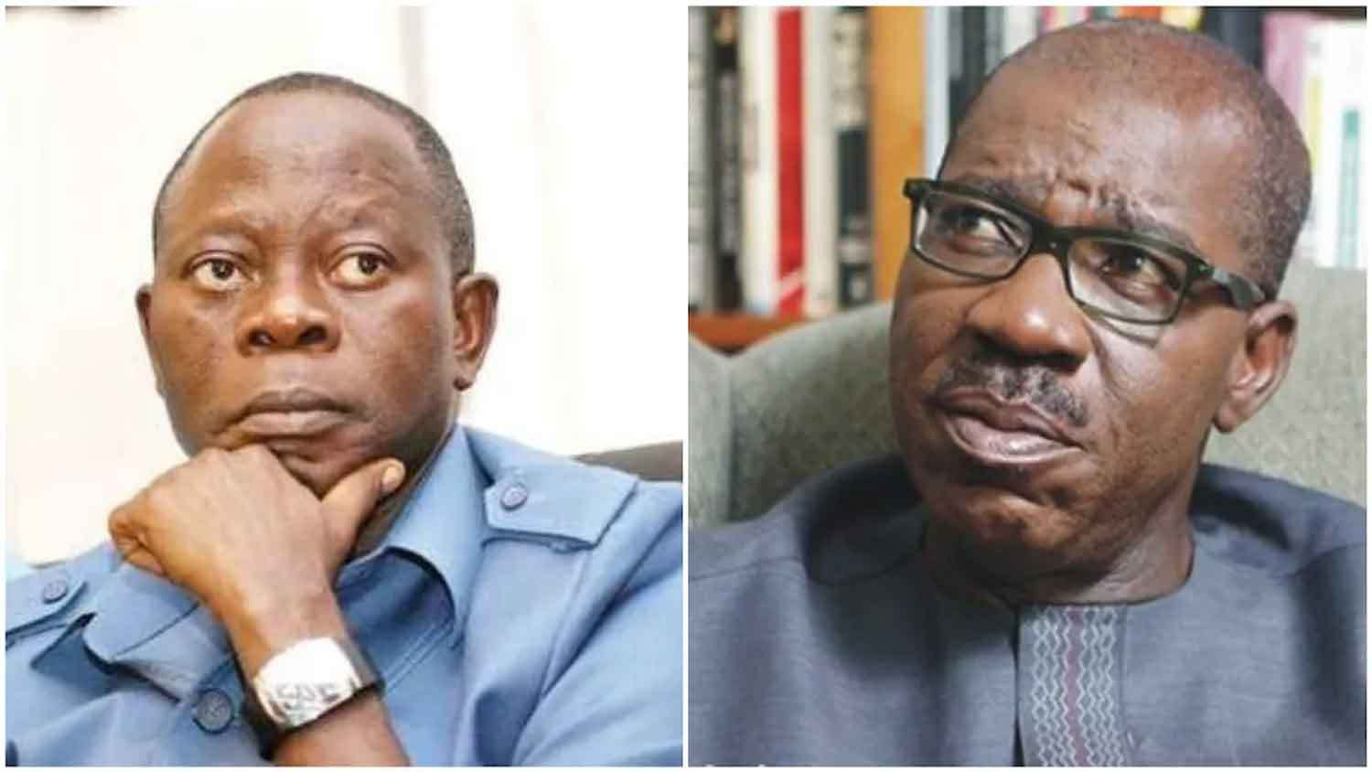 Photo of APC not a party of big men, even Buhari bent to our rules – Oshiomhole slams Obaseki
