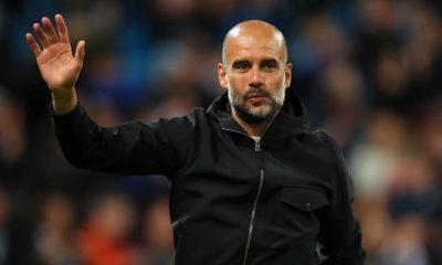 Pep Guardiola returns to UK from Barcelona