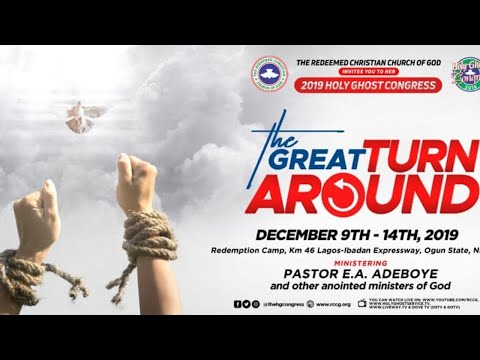 RCCG December 2019 Holy Ghost Service