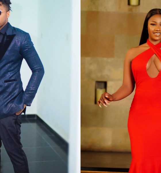 BBNaija Ike and Tacha spotted hanging out (photo)