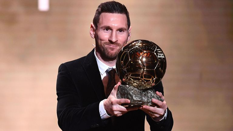 Lionel Messi wins 2019 Ballon d'Or