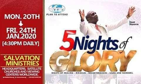 Watch 5 Nights of Glory 2020 - Day 5