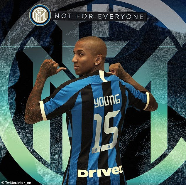 Photo of Inter Milan confirm signing of Ashley Young from Manchester United in a £1.5million deal