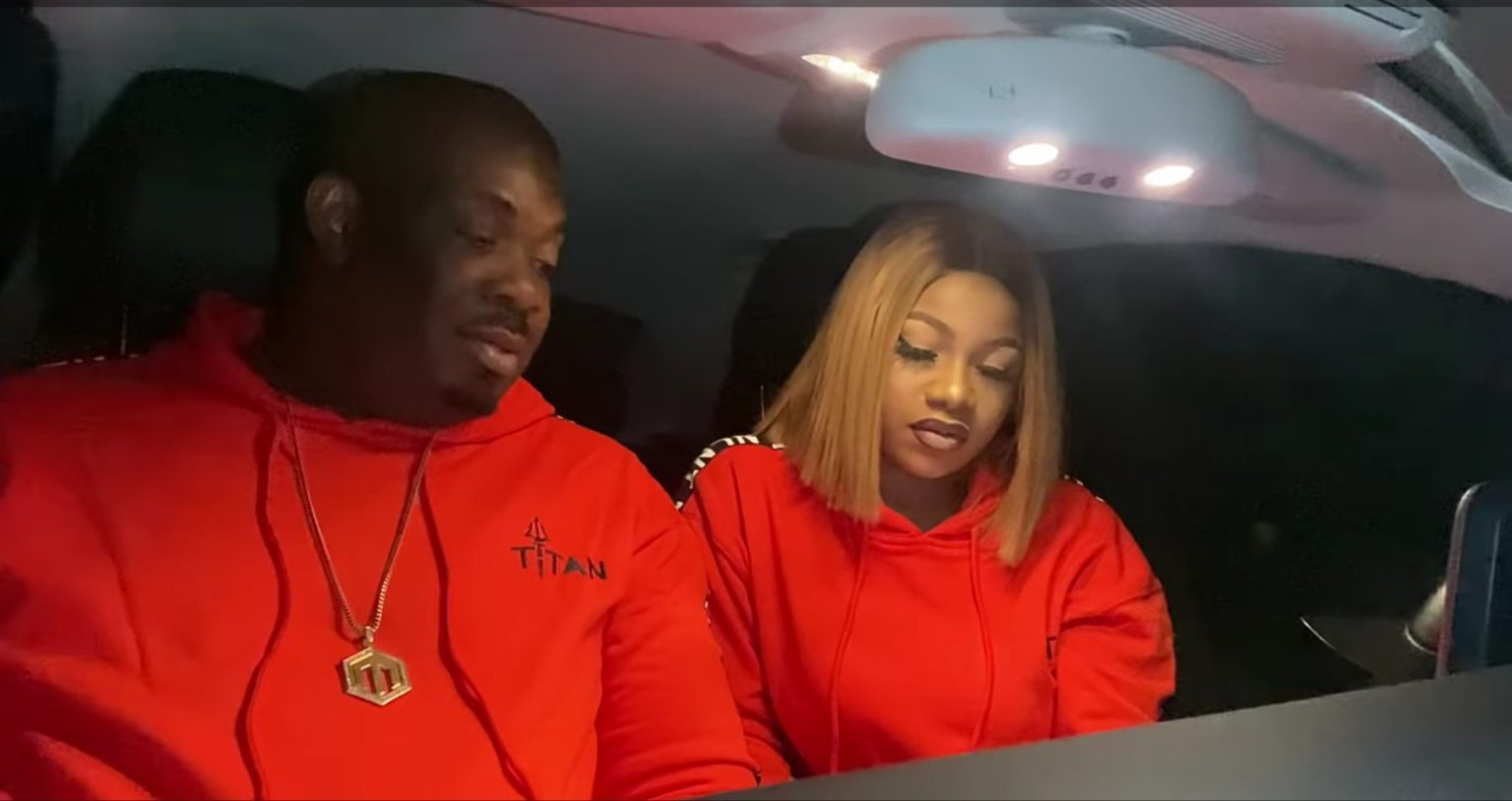 Photo of Tacha spotted hanging out with Donjazzy