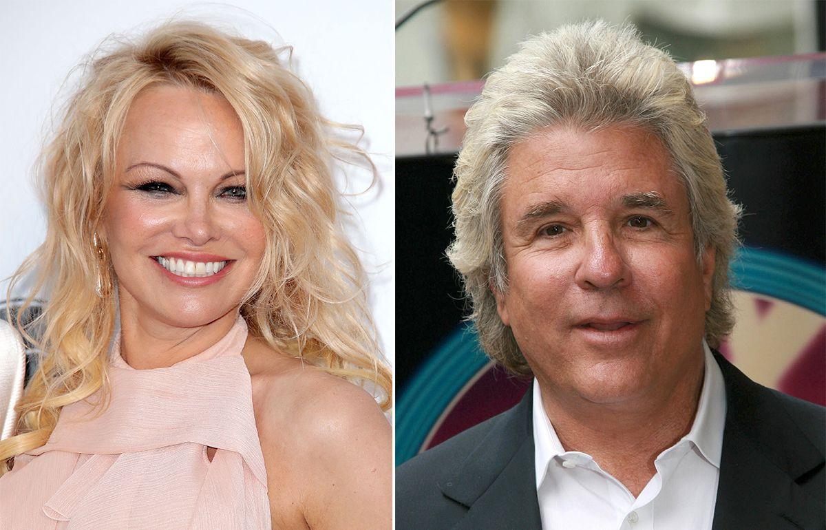 Photo of Pamela Anderson, 52, marries movie producer Jon Peters, 74 in secret 5th wedding
