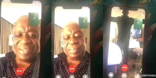 Photo of Ghana's National Security Minister, Kan Dapaah 'models' for alleged sidechick in leaked video
