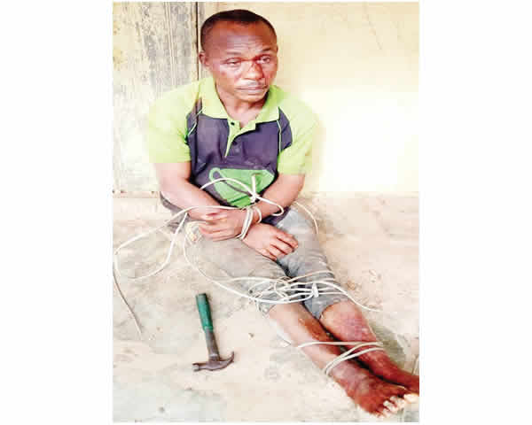 Man murders 62-year-old mother in Imo