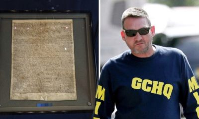 British man found guilty of trying to steal Magna Carta