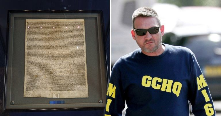 Photo of British man found guilty of trying to steal Magna Carta