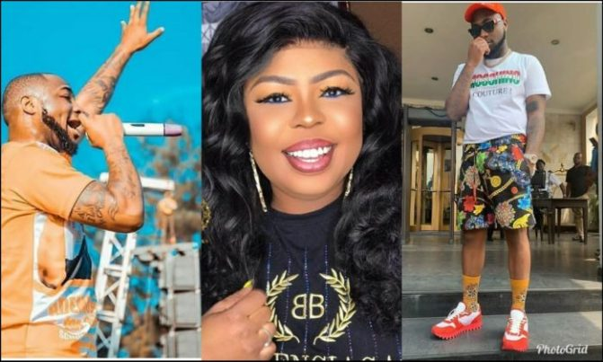 Photo of Davido is high on drugs by claiming his 30,000$ watch was stolen in Ghana – Afia Schwarzenegger