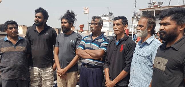 Nigerian navy arrests 7 Sri Lankans
