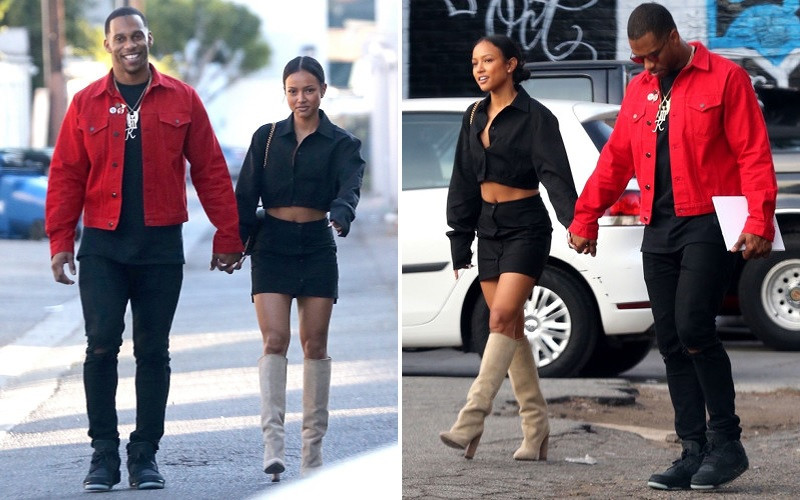 Photo of Former NFL star Victor Cruz confesses he 'loves' Karrueche Tran enough to marry her