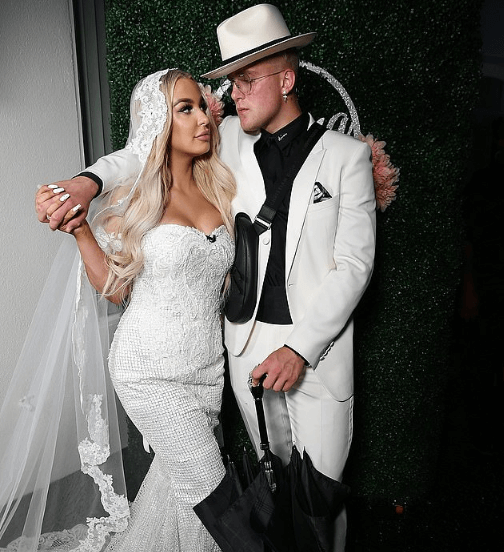 Photo of Youtube stars Tana Mongeau and Jake Paul end their marriage just 5-months after tying the knot