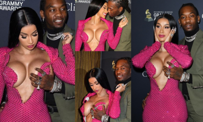 Offset grabs wife Cardi B's breast