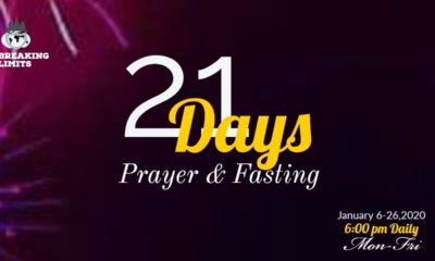 2020 Winners' Chapel 21 Days Fasting and Prayer - Day 4