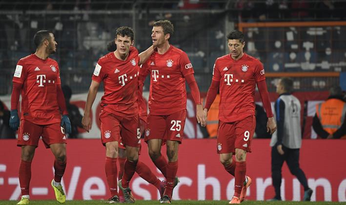 Champions League: Bayern Munich beat Chelsea 3-0