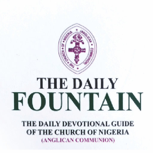 Anglican Daily Fountain Devotional 3 April 2020