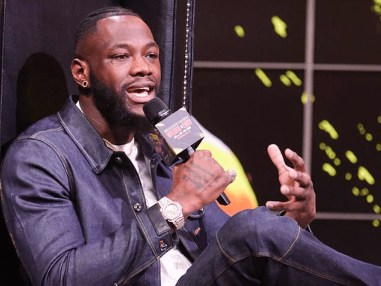 Heavyweight champion Deontay Wilder reveals his battle with depression