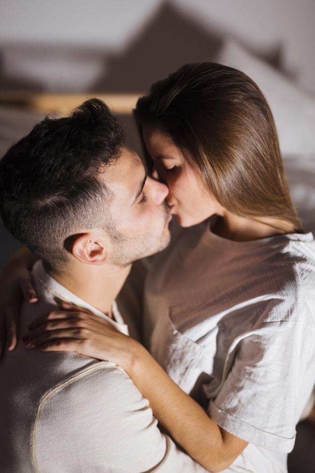 Hugging and Kissing