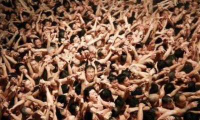 Japan annual naked festival