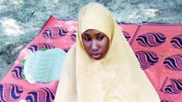 Photo of Leah Sharibu's abductors rejected FG's ransom to free her