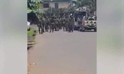 Nigerian soldiers invade IPOB leader, Nnamdi Kanu's community