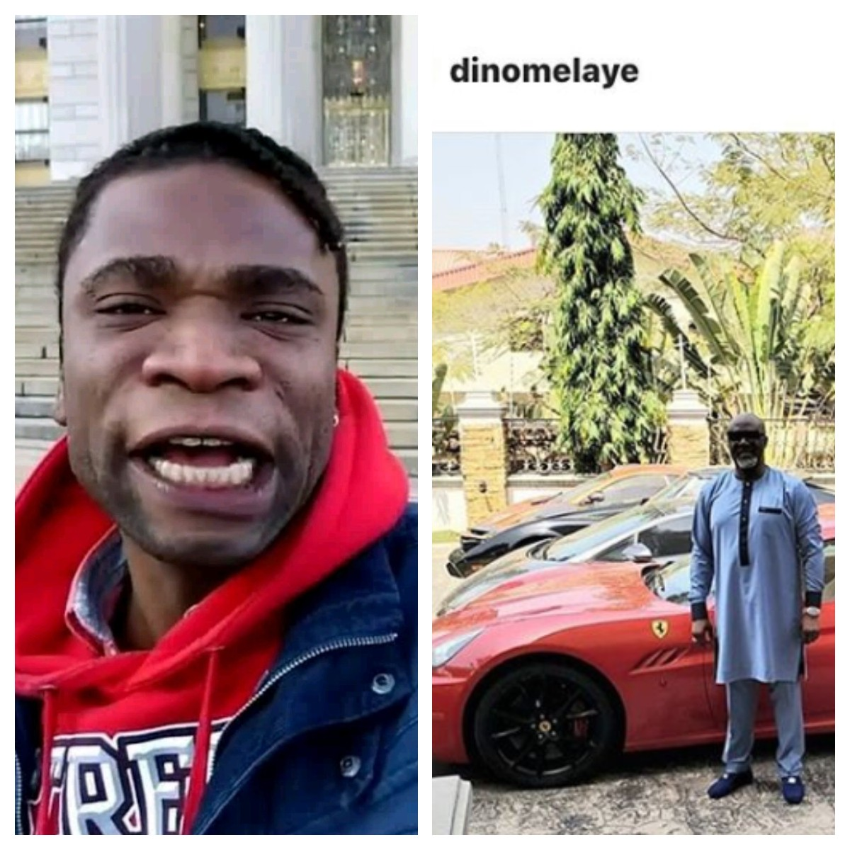 Photo of Speed Darlington attacks Dino Melaye after lawmaker shows off his cars