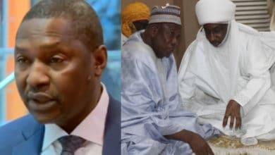 Photo of I'm not involved in Sanusi's dethronement – AGF Abubakar Malami