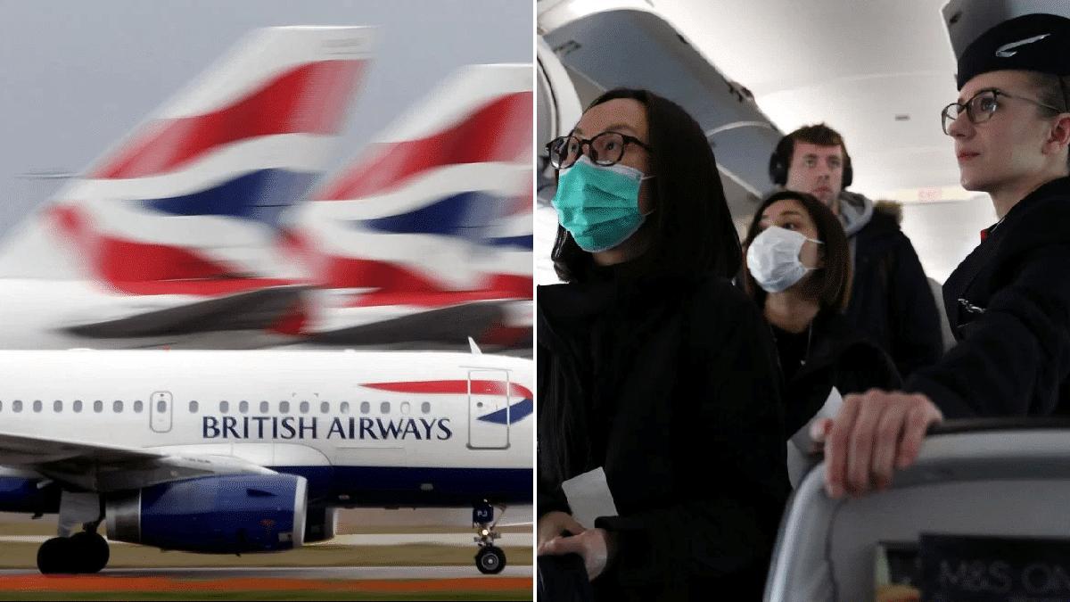 Coronavirus: Two British Airways staff test positive