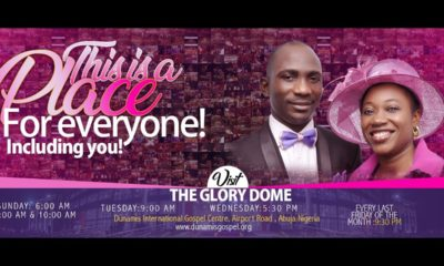 Watch Dunamis Sunday Service 20 September 2020 Live at Glory Dome