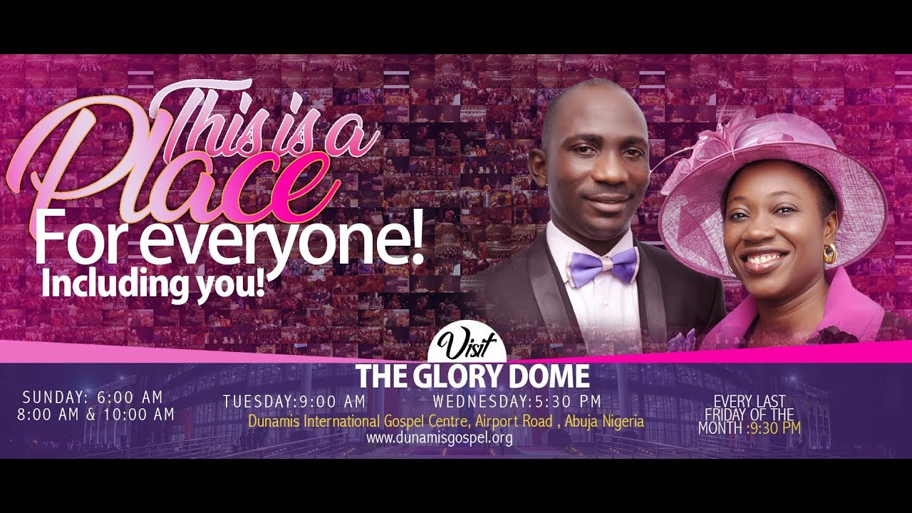 Dunamis Live Sunday Service 25th October 2020 at Glory Dome, Watch Dunamis Live Sunday Service 25th October 2020 at Glory Dome, Premium News24