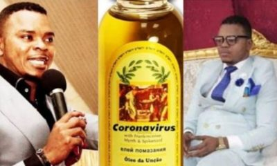 Pastor sells 'Holy Oil' to protect members against coronavirus