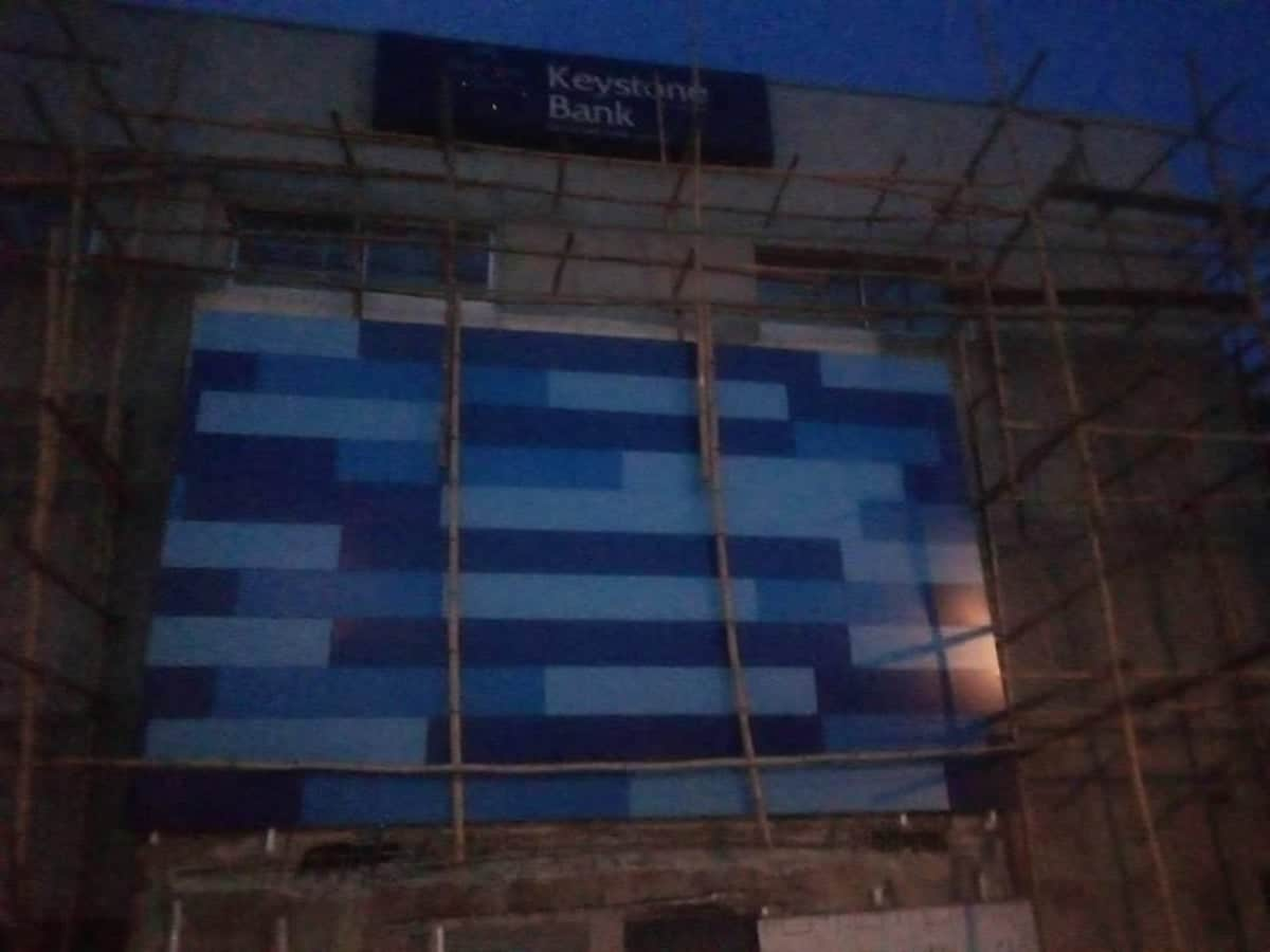 Photo of Keystone Bank building collapses in Lagos, one dead