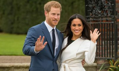 Prince Harry and Meghan Markle sign off as royals