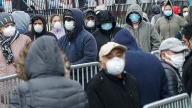 Photo of Coronavirus: New York hospital suffers 13 deaths in a day as patients die waiting for beds