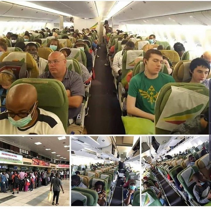 Photo of 376 American nationals eventually evacuated from Nigeria to Washington DC