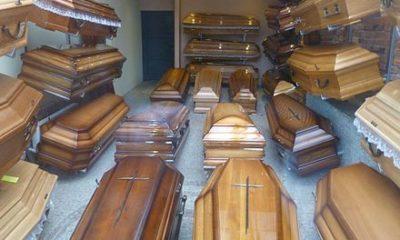 Coffin makers make more money as worldwide Coronavirus infection passes 1.1m
