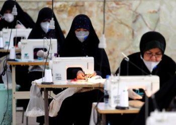 Coronavirus: Iran converts Mosque into mask factory