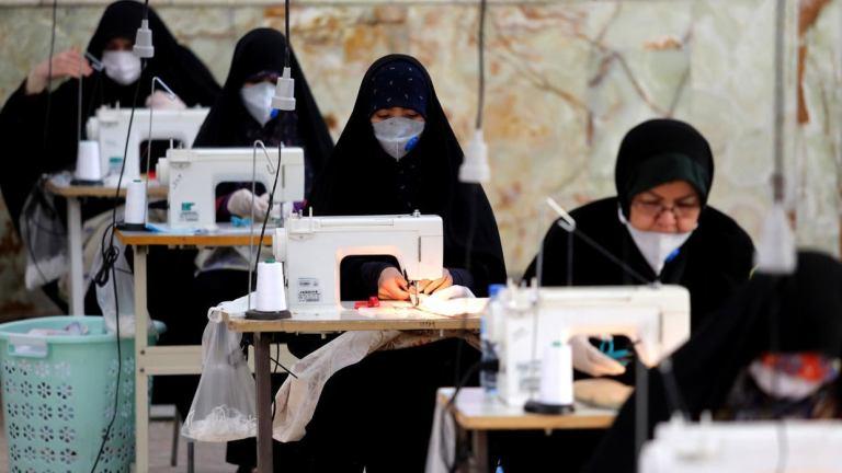 Photo of Coronavirus: Iran converts Mosque into mask factory