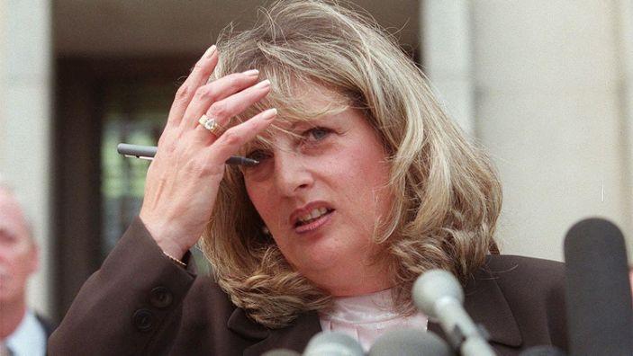 Photo of Linda Tripp, Whistleblower in Monica Lewinsky Scandal, Dies at 70
