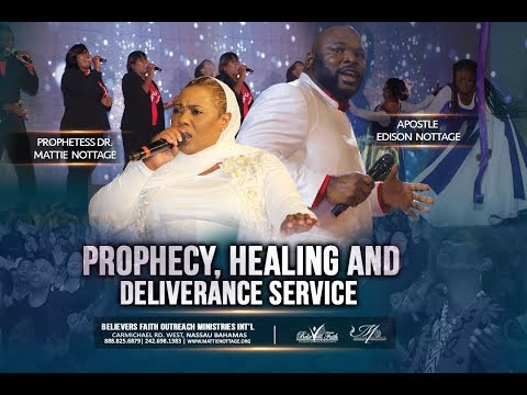 Photo of Live: Midnight Prayer, Healing & Deliverance Service with Apostle Edison & Prophetess Mattie Nottage