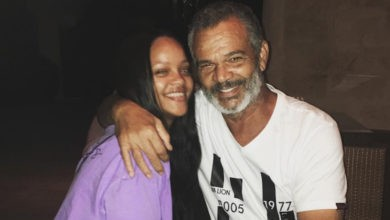 Photo of Rihanna's father reveals he tested positive for Coronavirus and the singer sent him a ventilator