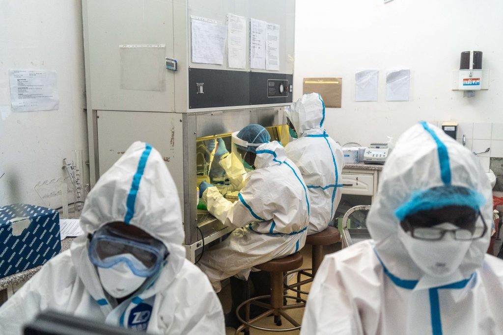 Photo of Suspected killer of Fasoranti's daughter tests positive for coronavirus