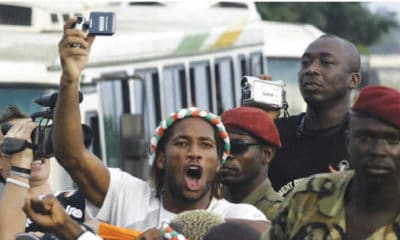 how Drogba stopped civil war in Ivory Coast