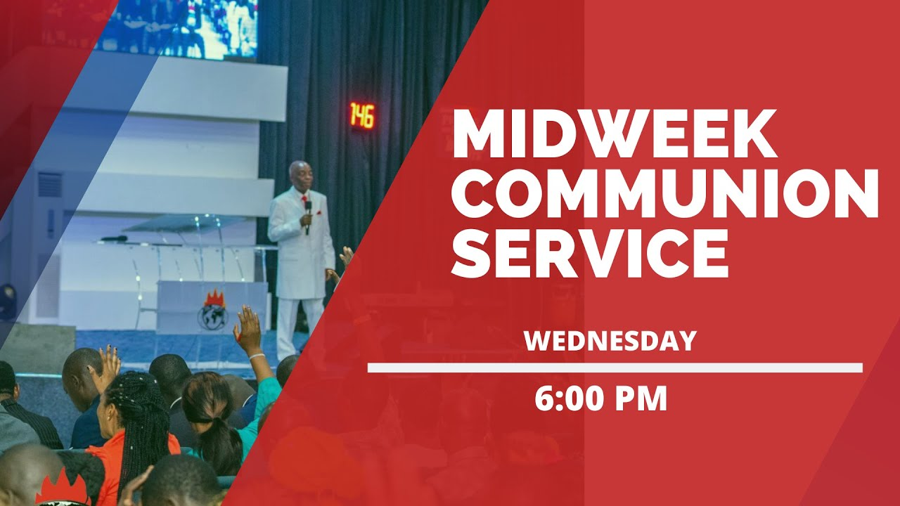 Photo of Winners' Chapel Mid-Week Communion Service 29th April 2020