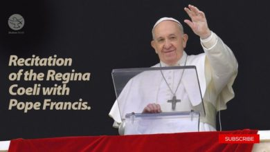 Photo of 31 May 2020 Recitation of the Regina Coeli with Pope Francis