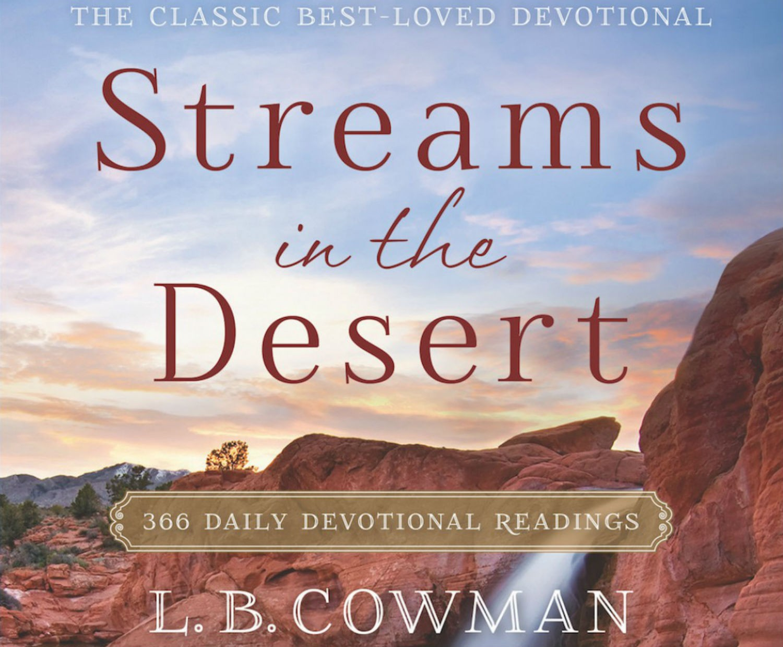 Streams in the Desert Devotional 5th June 2020