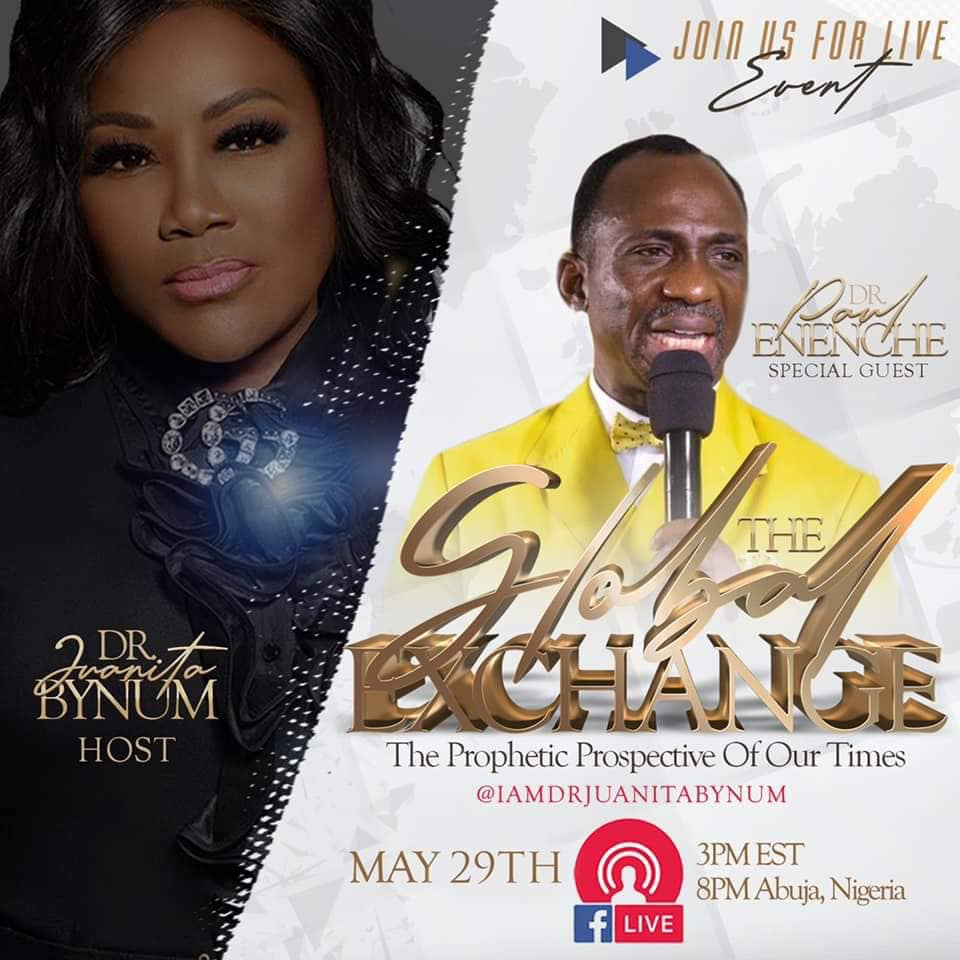 Live Event with Dr. Paul Enenche & Dr. Juanita Bynum - Why it couldn't hold