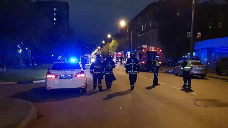 Five coronavirus patients killed in Russia hospital fire